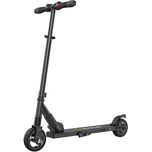 M MEGAWHEELS Scooter-Patinete electrico Adulto y niño, Ajustable la Altura, 5000 mAh, 23km/h.(Negro)