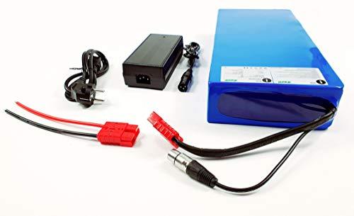 Batería TZIPower de 72 V, 20 Ah, de PVC, para bicicleta eléctrica, batería de ion de litio