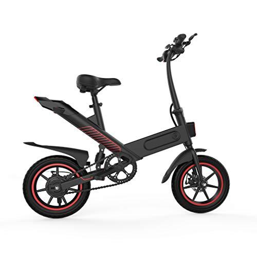 Fafrees Bicicleta Eléctrica con Pedales, Bicicletas Eléctricas para Adultos de 14 Pulgadas Motor sin Escobillas 350W, 36v/10AH/25km, IP54, (Entrega rápida en 3-7 días laborales) [EU Stock]