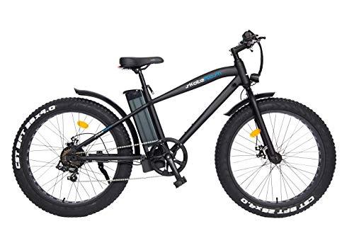Bicicleta Eléctrica SK Off Road [Regalo Casco y Guantes skateflash] Potencia -250W - Bateria LG Litio 36V 10 Ah - 25 Km de autonomía - Color Negro