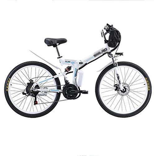 Bicicleta Eléctrica Plegable Bicicleta De Montaña Batería De Litio De 48 V 26 Pulgadas Transporte De Bicicleta Asistido Por Energía Coche Portátil Batería De Bicicleta Asistida Por Energía Eléctrica