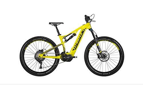 Whistle - Bicicleta eléctrica Show, Modelo 2020, 27,5 + 11 V, Giallo/Nero, L