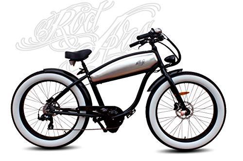 Rodars Bicicleta Eléctrica Pedelec Cruiser Outlaw FatBike eBike 250W 11Ah Samsung 25km/h Autonomía 45-60km