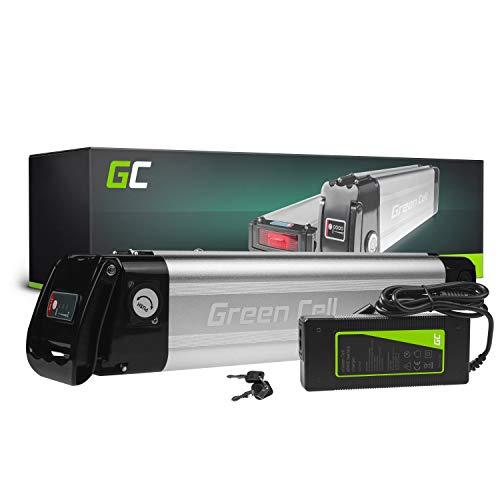 Green Cell GC Bateria Bicicleta Electrica 36V 10.4Ah Silverfish Li-Ion E-Bike Batería y Cargador