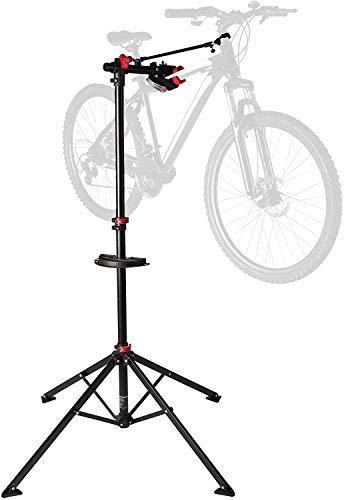 Ultrasport Fahrradmontageständer Expert Caballete Bicicleta como Las de montaña, eléctricas, Estable, hasta 30 kg, Funciones prácticas para la reparación, Unisex Adulto, Rojo, Talla única