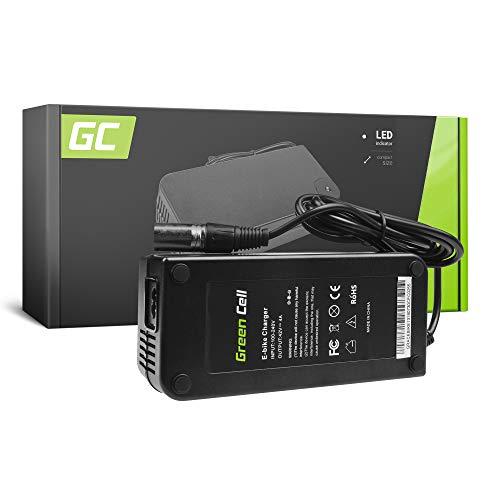 Green Cell Cargador (42V 4A 168W) para Whistler Xplorer Yamaha Zündapp E-Bike Bicicleta Eléctrica Li-Ion Batería (Conector XLR 3 Pin)