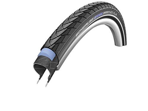 Schwalbe Marathon Plus SmartGuard Endurance - Cubierta de Bicicleta (406 mm, 20', con Revestimiento Interior de Alambre) Negro Negro Talla:47/406