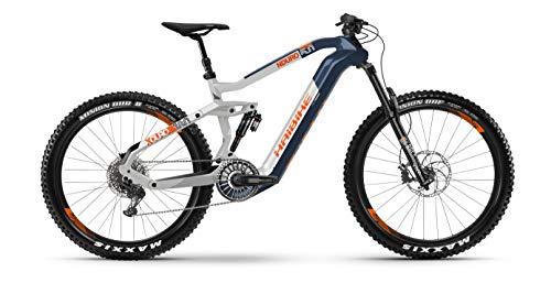 Haibike Flyon XDURO Nduro 5.0 Blue/White/Orange 11 2020 T-M 44Cm