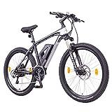 NCM Prague Plus Bicicleta eléctrica de montaña, 250W, Batería 36V 14Ah 504Wh (Negro 26')