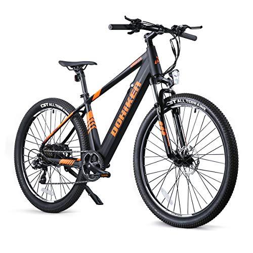 Fafrees Bicicleta de Asistencia Eléctrica de 27.5 Pulgadas, Bicicleta de Montaña para Adultos con Motor de 250W/36V/10AH/IP54