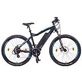 NCM Moscow Bicicleta eléctrica de montaña, 250W, Batería 48V 13Ah 624Wh (Negro 27,5')
