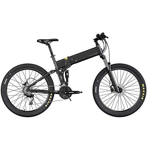 Legend eBikes ETNA Smart 14Ah Bicicleta eléctrica MTB Plegable, Adultos Unisex, Negro Onyx, 52