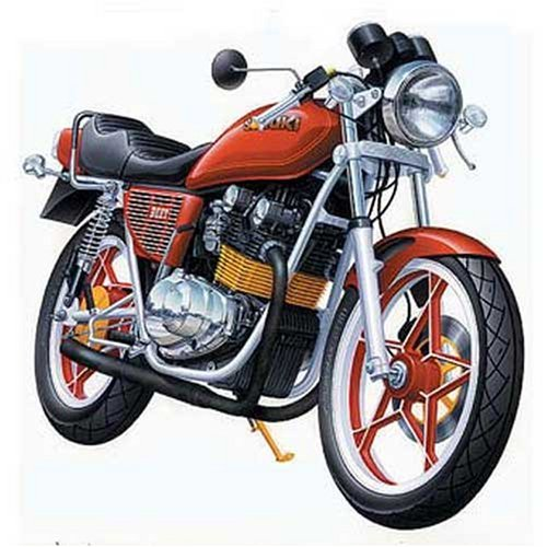 Aoshima God 1/12 Pass (Custom Bike) No.1 GS400E (Japan Import) by