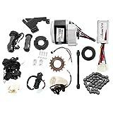 Kit de conversión de Bicicleta, 24V 250W Controlador de Motor de Kit de conversión de Bicicleta eléctrica para Bicicleta común de 22-28 Pulgadas