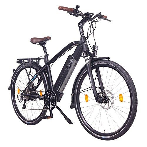 NCM Venice Plus Bicicleta eléctrica de Trekking, 250W, Batería 48V 16Ah 768Wh, 28'