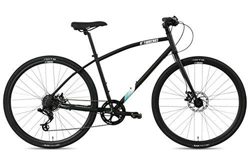 FabricBike Commuter Bicicleta, Adultos Unisex, Negro Mate, Medio