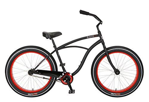 Bicicleta Sun Baja Cruz Mens Negra CB