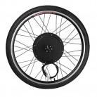 1000W eléctrico E Kit de conversión de la bici de 26″ Sensor de velocidad del kit de la manivela
