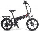 Ancheer SAMEBIKE Bicicleta Eléctrica Plegable, E Bike 20 Pulgadas con Batería de Litio 48V negra