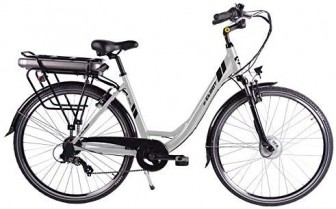 CLOOT Bicicleta Electrica Paseo Ionic Ion Litio 37V con 481Wh Shimano