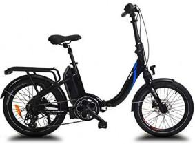 URBANBIKER Bicicleta eléctrica Plegable Mini, con batería de 36v y 14 A (504 WH)