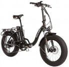 Monster 20″ LOW-e-e – eBike Plegable – Suspensión Delantera – Motor 500W negro