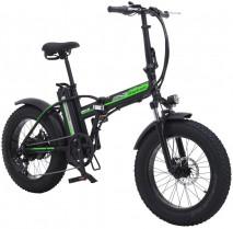 SHENGMILO 500W Bicicleta Eléctrica Plegable Montaña Nieve E-Bike