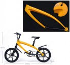 Xiaotian Bicicleta eléctrica Bicicleta de montaña City Fashion Smart Bluetooth Bluetooth