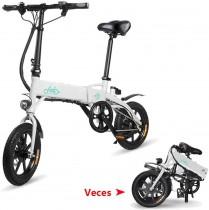Phaewo Bicicleta eléctrica Plegable, D1 Ebike 10.4Ah