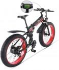 Sheng mi lo Bicicleta eléctrica 48V 1000W para Hombre Montaña Ebike 21 velocidades