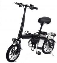 Lamtwheel Bicicleta Eléctrica De La Ciudad Plegable De La Bicicleta