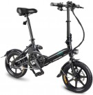 FIIDO D3 Ebike, bicicleta eléctrica plegable con faro de LED para adultos, 250W 7.8Ah