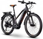 RAYMON E-Tourray LTD 2.0 Pedelec – Bicicleta eléctrica para Mujer, Color Negro y Naranja