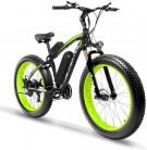 Extrbici XF660 Bicicleta eléctrica 48V 500W/1000W Bicicleta de montaña 7/21 velocidades verde