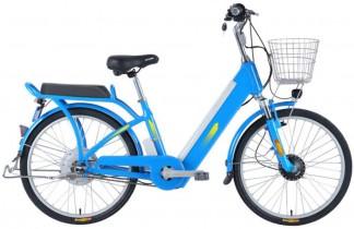 BANGL B Bicicleta eléctrica Ocio Viajes 48V Batería de Litio Bicicleta eléctrica Energía black blue