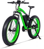 HUAEAST Bicicletas Electricas Neumaticos Bicicleta 26 Pulgada 500w 48V 17AH