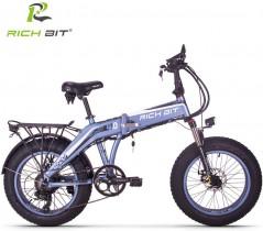 Rich bit RT-016 Bicicletas Eléctricas 20″ Plegables E-Bike 500W * 48V * 9.6Ah