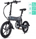 Fiido D2/D2S Bicicleta Eléctrica Plegable, 7.8Ah 36V EBike 250W