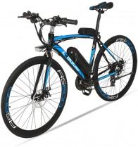Bicicleta eléctrica de carretera Extrbici RS600 Mans 700 c x 50 cm marco de acero al carbono