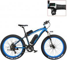 LANKELEISI XF4000 Bicicleta de montaña eléctrica 26 Pulgadas, neumático de Grasa 4.0