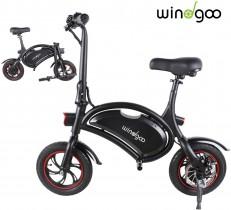 TOEU Ebike 36V Bicicleta Electrica Plegable 12″, Black Matte, Bici Electrica Urbana Ligera para Adulto