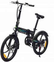 SMARTGYRO Ebike Crosscity Black – Bicicleta Eléctrica Urbana, Ruedas de 20″