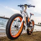 RICH BIT RT022 Bicicleta eléctrica 1000W*48V*17Ah 26 * 4.0 Fat e-Bike naranja