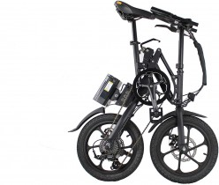 Bicicleta eléctrica plegable Xite3 2018, 16 pulgadas, 7 velocidades Shimano