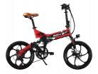 Rich Bit® RT 730 bicicleta eléctrica bicicleta plegable Ciclismo 250 W * 48V