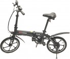SK8 eBike Urban Beetle Bicicleta eléctrica plegable, Negro