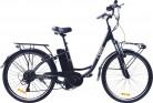 i-Bike City Easy Bicicleta eléctrica, Negro, 180 x 90 x 32 cm