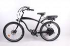 móvil 500W 48V 10.4AH Bicicleta eléctrica 26'x2.125 Bicicleta Cruiser 7 Velocidad