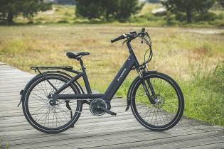 Aurotek Lisbon Bicicleta Eléctrica de Paseo, Adultos Unisex, Negro, 26″