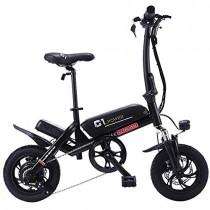 Altruism Bicicleta eléctrica Plegable de 250 W, 36 V